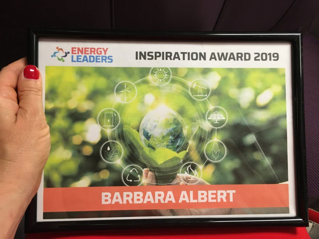Barbara Albert Energy Leaders Inspiration Award